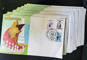18 BURMA FDC COVERS, 1997 YEAR