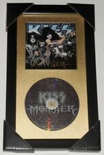 ERIC SINGER AUTOGRAPHED KISS MONSTER CD COVER (FRAMED & MATTED) - W/ COA!