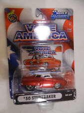 1:64 Muscle Machines  VOTE AMERICA  '50 Studebaker   RED 04-69