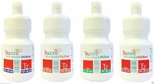 TRUZONE CREAM PEROXIDE 1000ml/250ml All strengths (FREE 48HR TRACKED DELIVERY)
