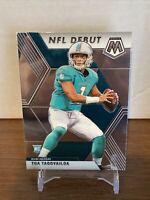 2020 Mosaic NFL DEBUT Tua Tagovailoa Rc Card # 262 Miami Dolphins