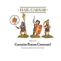 Caesarian Roman Command - Hail Caaesar - Warlord Games Caesar Late Republican