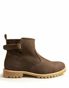 Koalabi Gibson Chocolate Men's Sheepskin Wool Boots