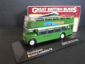 Atlas 1/76 Scale 102 Southdown Bristol Lodekka FS Diecast Model bus with box