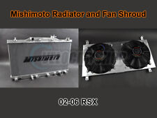 Mishimoto Aluminum Radiator and Fan Shroud Kit 02-06 RSX (manual model only)