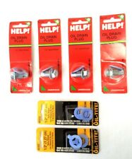 4 Oil Drain Plugs and Gaskets 1/2'' DOG POINT Dorman 65147  091-052