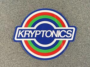 "Kryptonics Skateboard Sticker 5.5"" sk8"