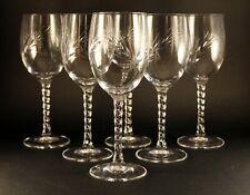 6 verres a liqueur cristal d'arques epi fleury