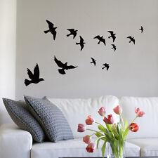 Vivid Bird Wall Decals Mural Stickers Removable Home Room Decor Vinyl Art DIY SU