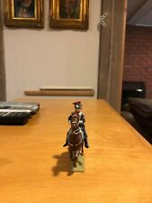 Rare Well Painted 54mm lead Vertunni Mounted French Napoleonic Polish Officer!!