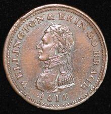 1814 Irish Penny Token - better grade