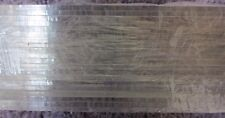 "LOT of 20 - Clear Acrylic Plexiglass sheets 1/8"" x 19 3/8"" x 2"""