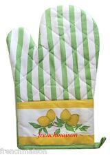 Winkler depuis 1892 French Country Lemon Kitchen Towel+Oven Mitt+Apron Gift Set