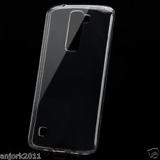 High Gloss Soft TPU Gel Skin Case Clear Cover for LG Escape 3 / Phoenix 2 / K8
