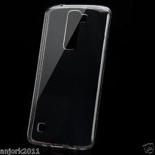 High Gloss Soft TPU Gel Skin Case Clear Cover for LG Escape 3 / Phoenix 2 / K8