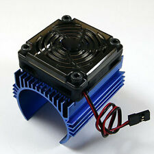 For 1/8 RC Car C4 5V Cooling Fan and 44 x 65mm Motor Heat Sink System