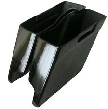 """HARLEY DAVIDSON STRETCHED SADDLEBAGS - 4"""" EXTENDED FIBERGLASS FITS 93 TO 2013 **"""