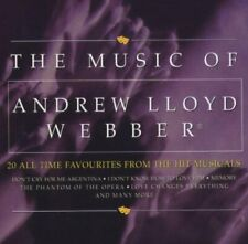 THE MUSIC OF ANDREW LLOYD WEBBER: 20 ALL TIME FAVOURITES FROM THE HIT MUSICALS