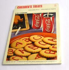 Coca Cola Coke Cooking recipes Recipe Block Cards USA 1970s No. 6 A-B-C Cookies
