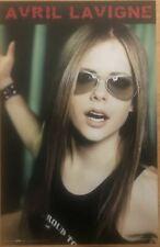 Avril Lavigne Singer Vintage Poster 2002 22.5 X 34.5