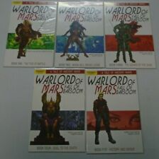 Warlord of Mars Fall of Barsoom set #1-5 8.0 VF (2011)