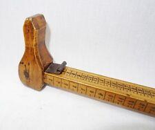 pédimètre - mesure de cordonnier en buis