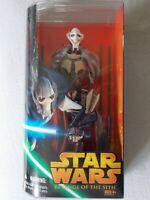 "Star Wars Revenge of the Sith General Grievous 12"" Figure 2005 Hasbro Unopened"