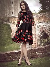 """Chi Chi LONDON TALL Floral Embroidery Long Sleeve Stunning""""Aymie dress""""SIZE-6"""