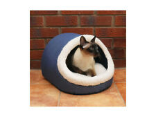 Rosewood  Soft Bedding Collection BLUE Snuggly Kitty Hideaway Cat Bed - NQP