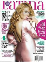 Latina Magazine Paulina Rubio Fall Fashion Sexy Hair Immigrant Rights Food 2010