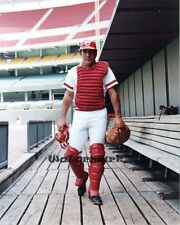 MLB HOFer Cincinnati Reds Johnny Bench in Dugout Color 8 X 10 Photo Picture
