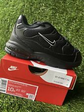 TODDLER BOY: Nike Little Air Max Plus, Black - Size 10C 314730-053
