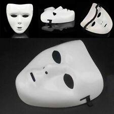 Halloween Mask White Full Face JabbaWockeeZ Dance Crew Costume alloy White- Z5C3