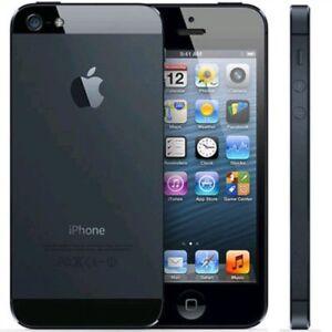 Apple iPhone-5-16GB-Black-unlocked-smartphone  -good condition