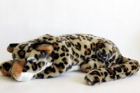 Plush LEOPARD Toy Stuffed Jungle Animal  Conservation Collection 1997