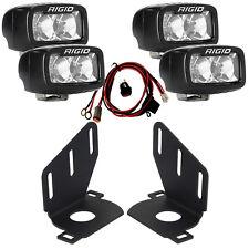 RIGID LED Fog Light Kit for 14 15 Chevy Silverado 1500 w/ SRM-Series PRO Lights