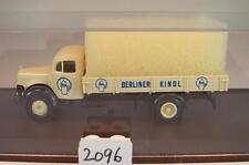 Brekina 1/87 MERCEDES BENZ l311 CAMION Berliner Kindl birreria AG OVP #2096