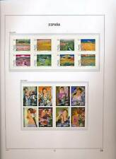 XC50164 Spain 2003 paintings art sheets MNH