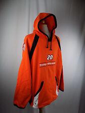 Tony Stewart Home Depot #20 Chase Authentics Hoodie Pullover XL Orange & Black