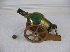 VTG Courvoisier Cognac Bottle Stand/ Display Antique Wood Cannon Napoleon Brand