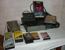 Rare ordinateur console EXL100 EXELVISION 2 cartouches 13 cassette  80's game