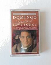 PLACIDO DOMINGO Greatest Love Songs Compilation (Cassette, 1988) FMT 44701