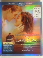 The Last Song (Blu-ray/DVD, 2010, 2-Disc Set) Based on Nicolas Sparks Novel
