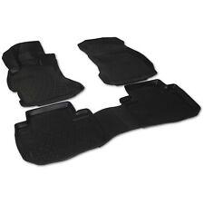 Gummimatten Fußmatten 3D mit Rand für Subaru Forester SJ 2012-2019