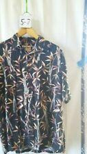 Vintage Men's Hawaiian Shirt Cooke Street Honolulu L 100% Cotton Bamboo