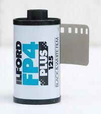 5 Rolls Ilford FP4 Plus Black & white print film 135 35mm ISO 125 24 exp 03/2020