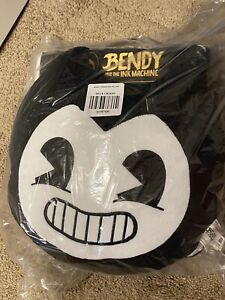 BENDY AND THE INK MACHINE CHECKERED BENDY THROW BLANKET & PILLOW *BRAND NEW*