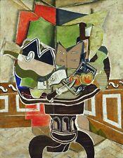 Poster Arte IL TAVOLINO ROTONDO Georges Braque CUBISMO