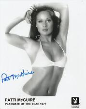 PATTI MCGUIRE AUTO'D SIGNED PLAYBOY PROMO HEADSHOT 8X10 PHOTO PMOY 1977 RARE A