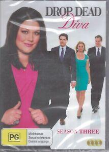 DROP DEAD DIVA Season Three (3 x DVD Set) Brooke Elliot NEW & SEALED Free Post